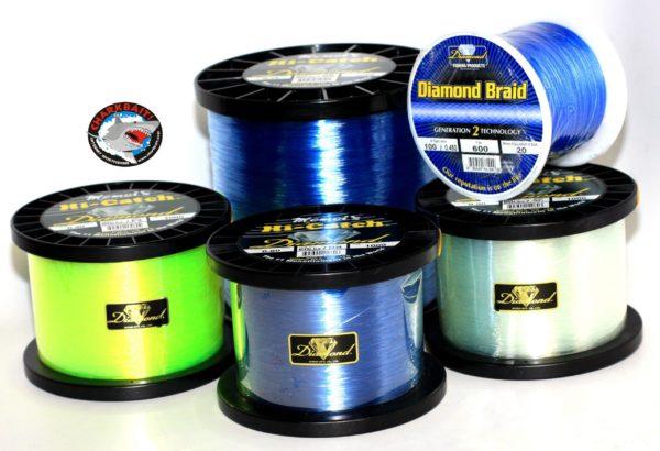 choisir couleur//Test environ 548.64 m Momoi Diamant Tresse Génération III noyau Creux Ligne 600 Yd