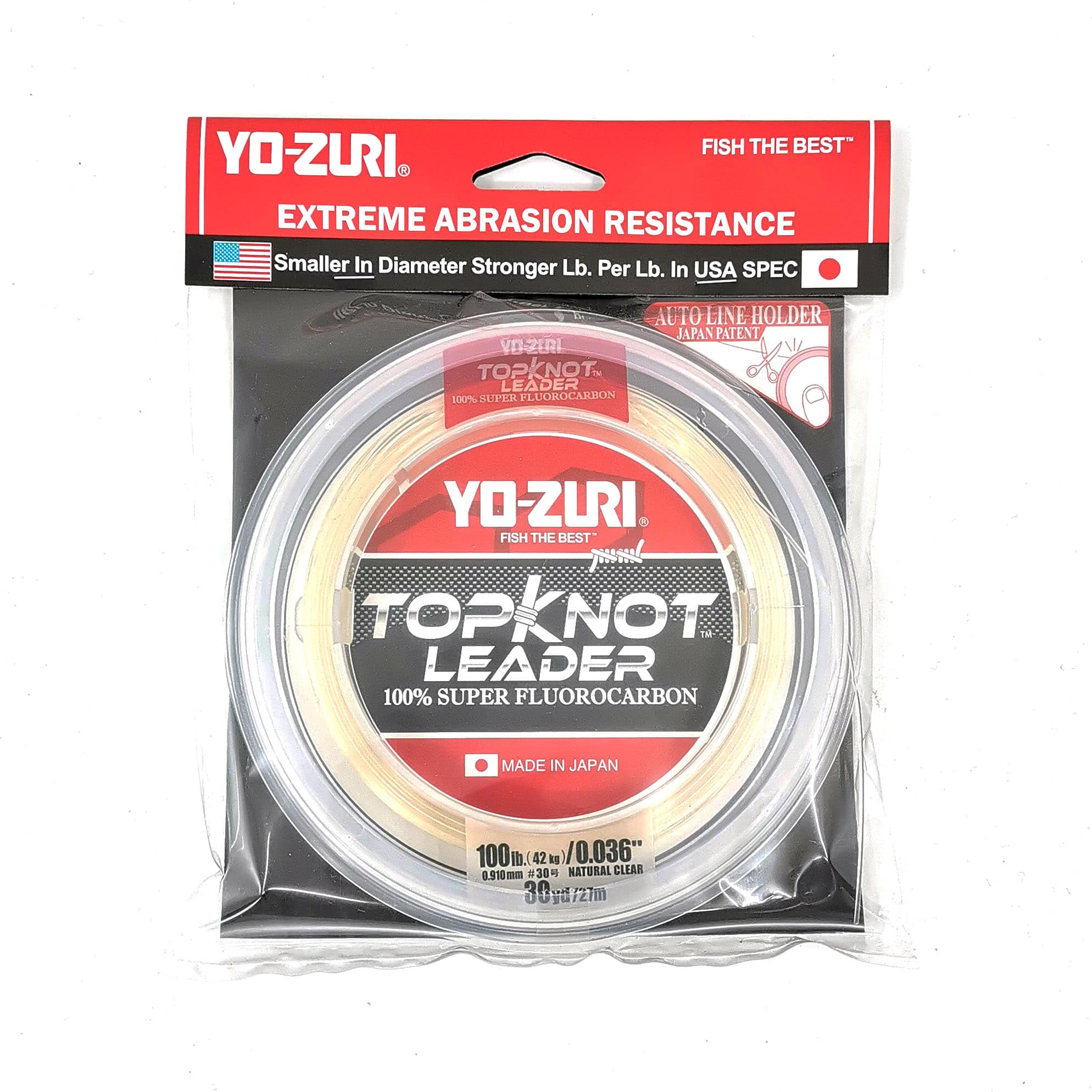 SF 100/% Pure Fluorocarbon Leader Material Fishing Line Virtually Invisible Shock Resistant Increased Sensitivity Sink Fast Clear 50yd 8//10//12//15LB