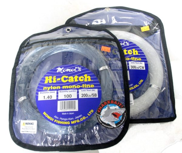 Momoi Hi-Catch Monofilament Leader Coils