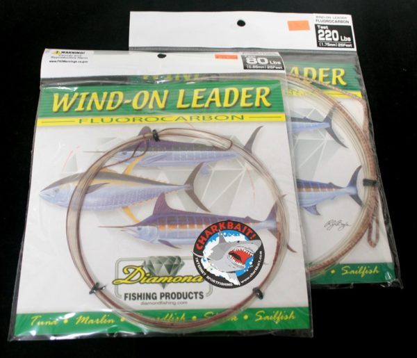 Momoi Diamond Fluorocarbon Wind On Leaders