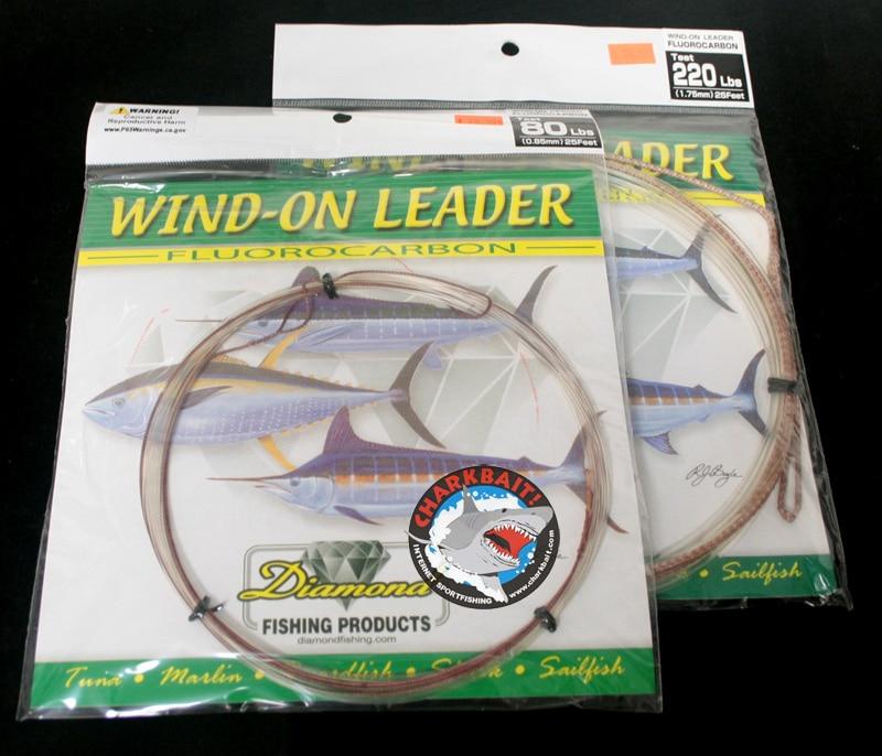 Momoi Hicatch Leader 400 lb WIND-ON Leader