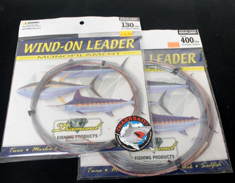 Melton Tackle Diamond X-tra Hard Mono Wind-On Leaders