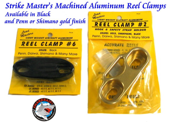 LM Reel Clamp With Lanyard/Hook Keeper
