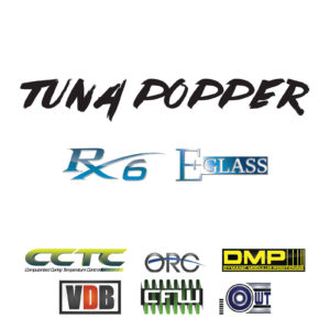 Rainshadow Tuna Popper Rod Blanks