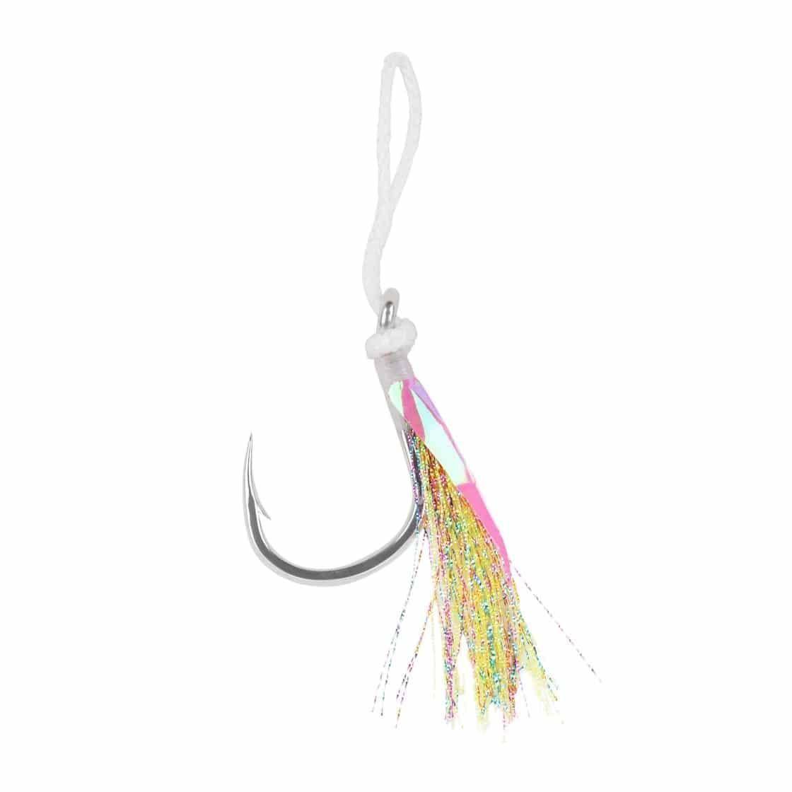 Capt Jay Fishing Assist Hooks #1//0 3 Piece Jigging Slow Fast Jigs Fishing Hooks