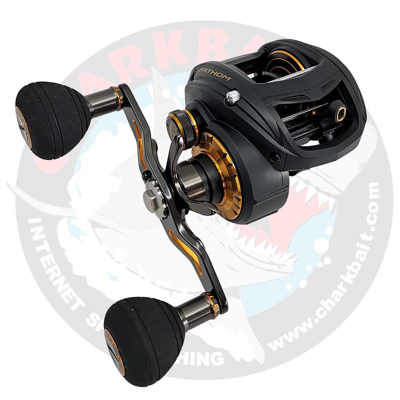 Penn Fathom FTH300LPLH Left-Handed Low Profile Baitcasting Fishing Reel